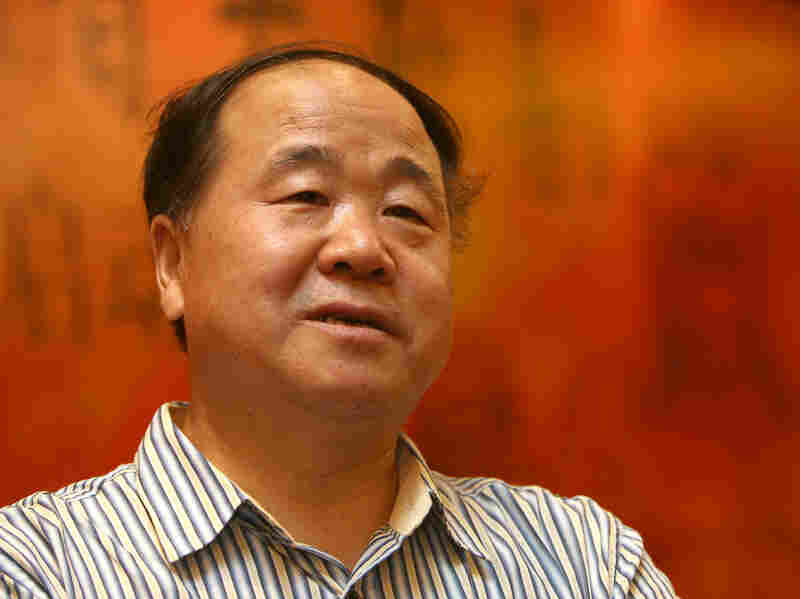 """Chinese writer Mo Yan is the winner of the 2012 Nobel Prize in literature. Mo Yan is a pen name that means """"don't speak"""" — a name he adopted because his parents, who raised him during the Cultural Revolution, warned him to hold his tongue."""