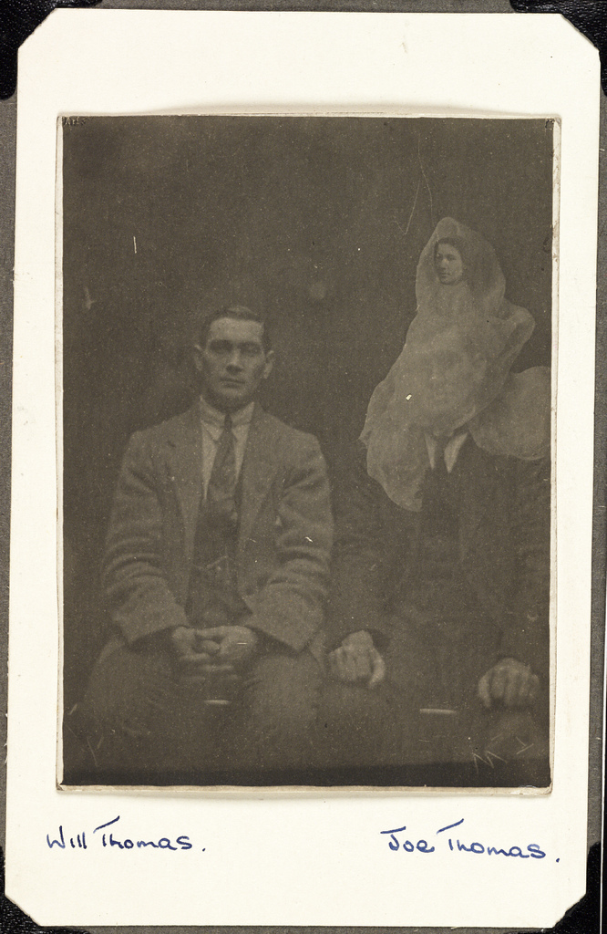 "The ""spirit"" photographs of William Hope, via Flickr Commons"