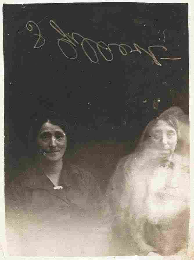 """The """"spirit"""" photographs of William Hope, via Flickr Commons"""