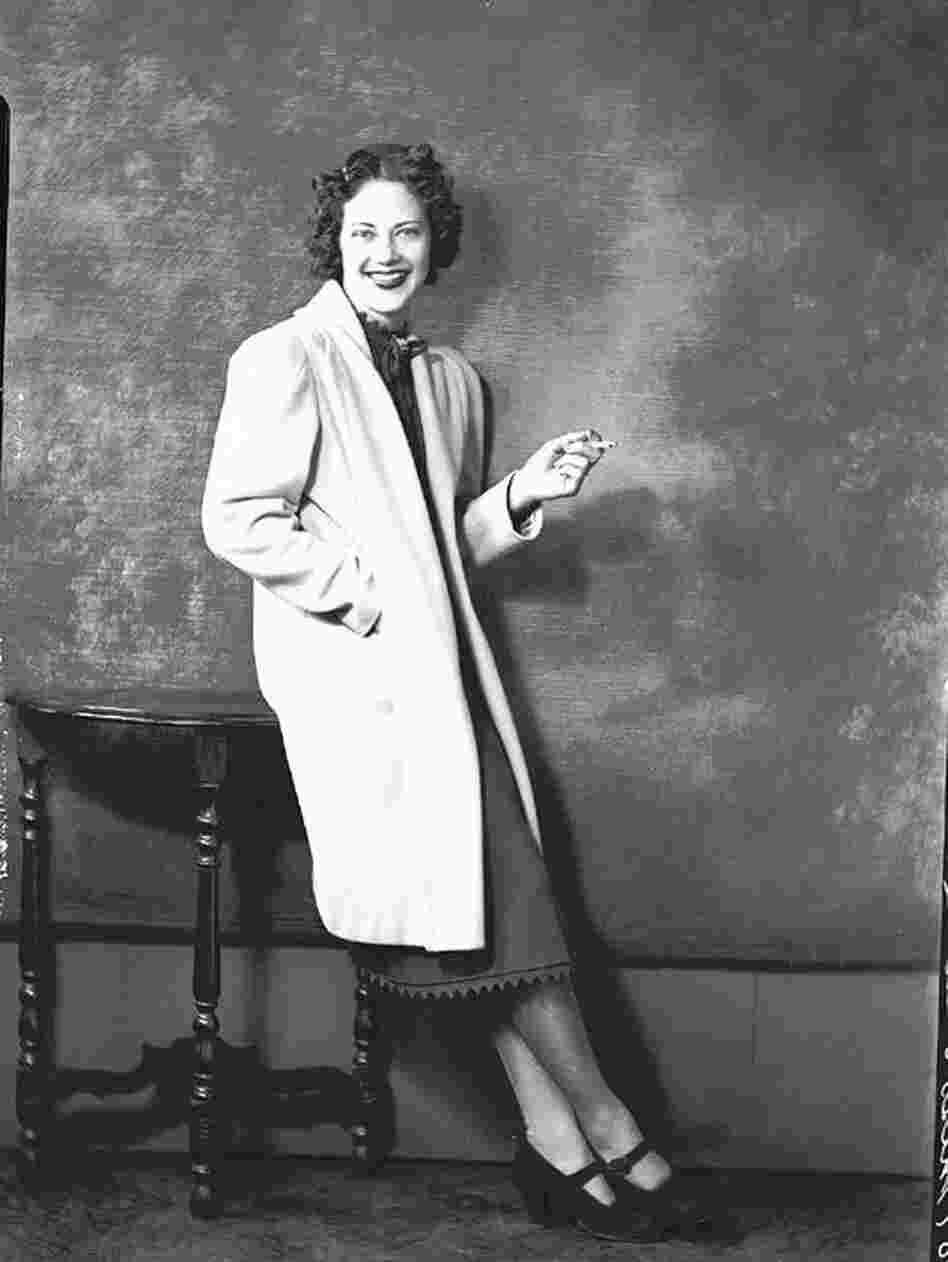 Actress Fredi Washington circa 1940s. Washington played Peola in the 1934 Academy Award-nominated Imitation of Life.