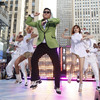 """South Korean rapper Psy performs his massive K-pop hit """"Gangnam Style"""" live on NBC's """"Today"""" show."""