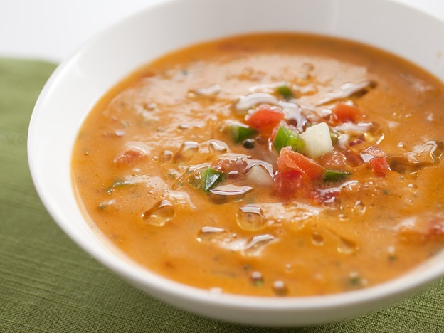 Want a better-tasting gazpacho? Don't toss out the tomato seeds. (America's Test Kitchen)