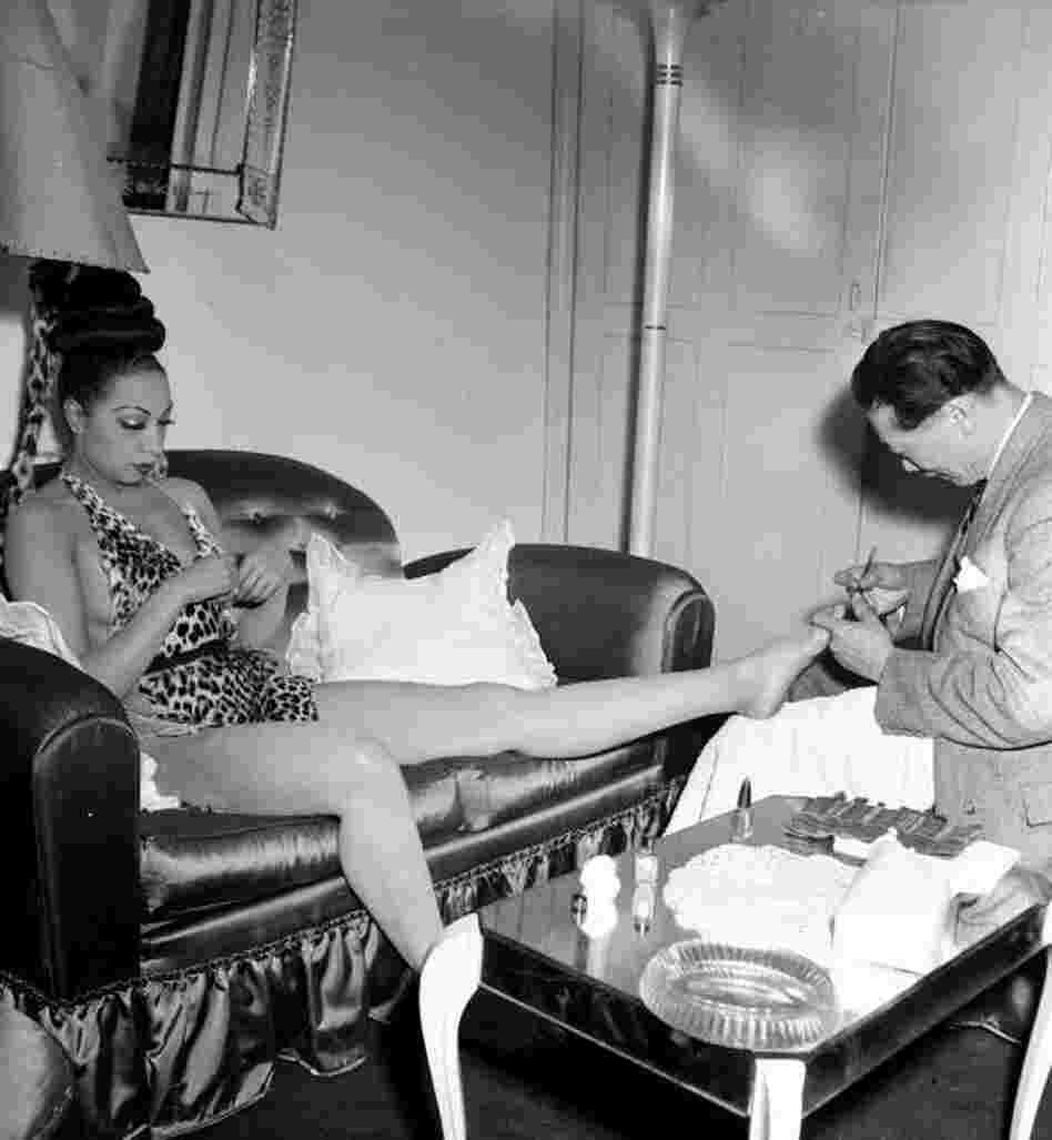 "That's Bananas: ""Whether [Josephine Baker's] getting a pedicure or she's walking down the street or she's relaxing in a yard somewhere, I just love the variety of pictures of her,"" Gainer says. ""The banana skirt is a part of who she was, it's the most famous thing, but it just annoys me when that's just the only thing. ... There was a lot more to her than that."""