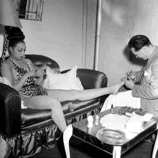 """That's Bananas: """"Whether [Josephine Baker's] getting a pedicure or she's walking down the street or she's relaxing in a yard somewhere, I just love the variety of pictures of her,"""" Gainer says. """"The banana skirt is a part of who she was, it's the most famous thing, but it just annoys me when that's just the only thing. ... There was a lot more to her than that."""""""