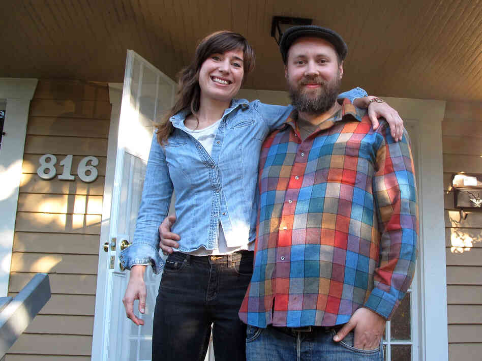 Kitsy Roberts and Janko Williams have traded a rent payment for a mortgage. The Seattle couple is planning to put a lot of sweat equity into their fixer-upper.