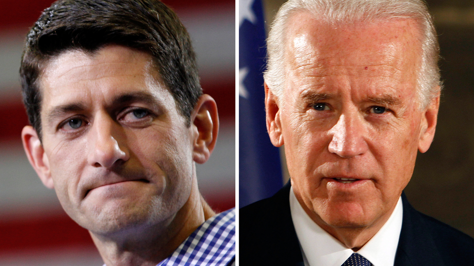Tonight's faceoff between Vice President Joe Biden (right) and GOP Rep. Paul Ryan of Wisconsin will likely be an important stage-setter for next week's second presidential debate. (AP)