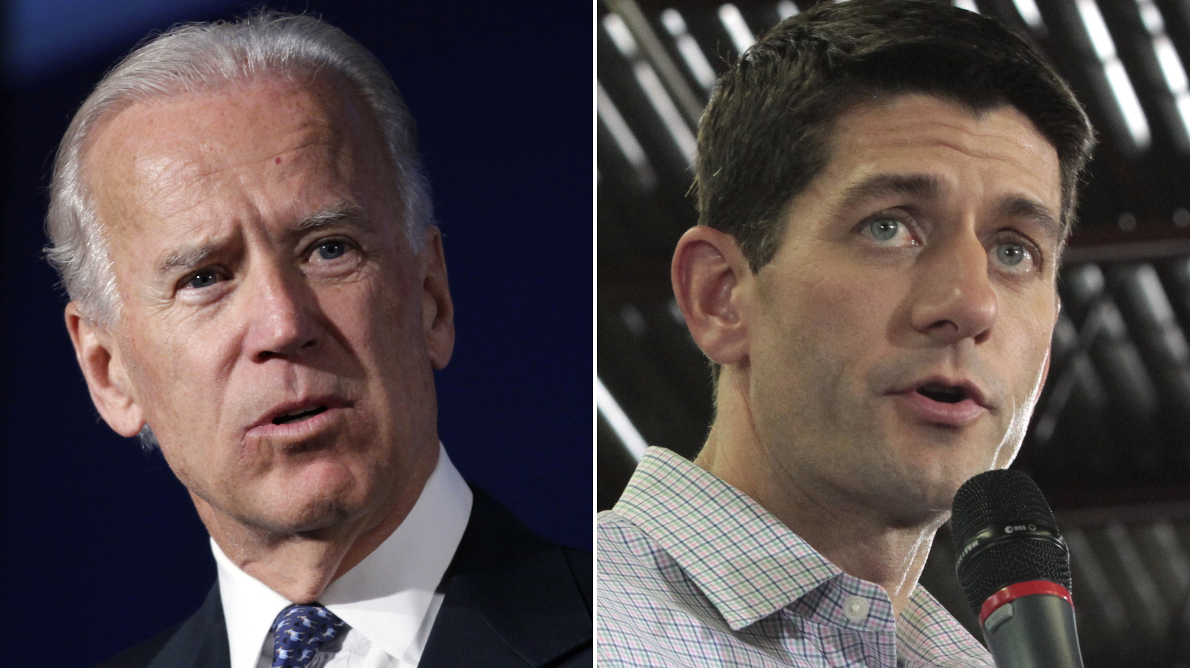 Tonight's faceoff between Vice President Joe Biden (left) and the GOP vice presidential nominee, Rep. Paul Ryan of Wisconsin, in Kentucky will likely be an important table-setter ahead of next week's second presidential debate.