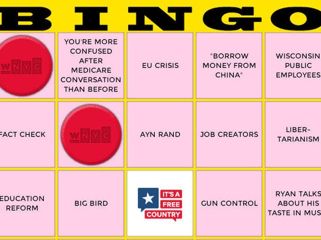 WNYC's vice presidential debate game