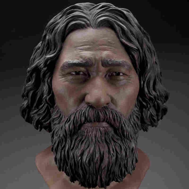 Forensic artists think this is what Kennewick Man looked like.
