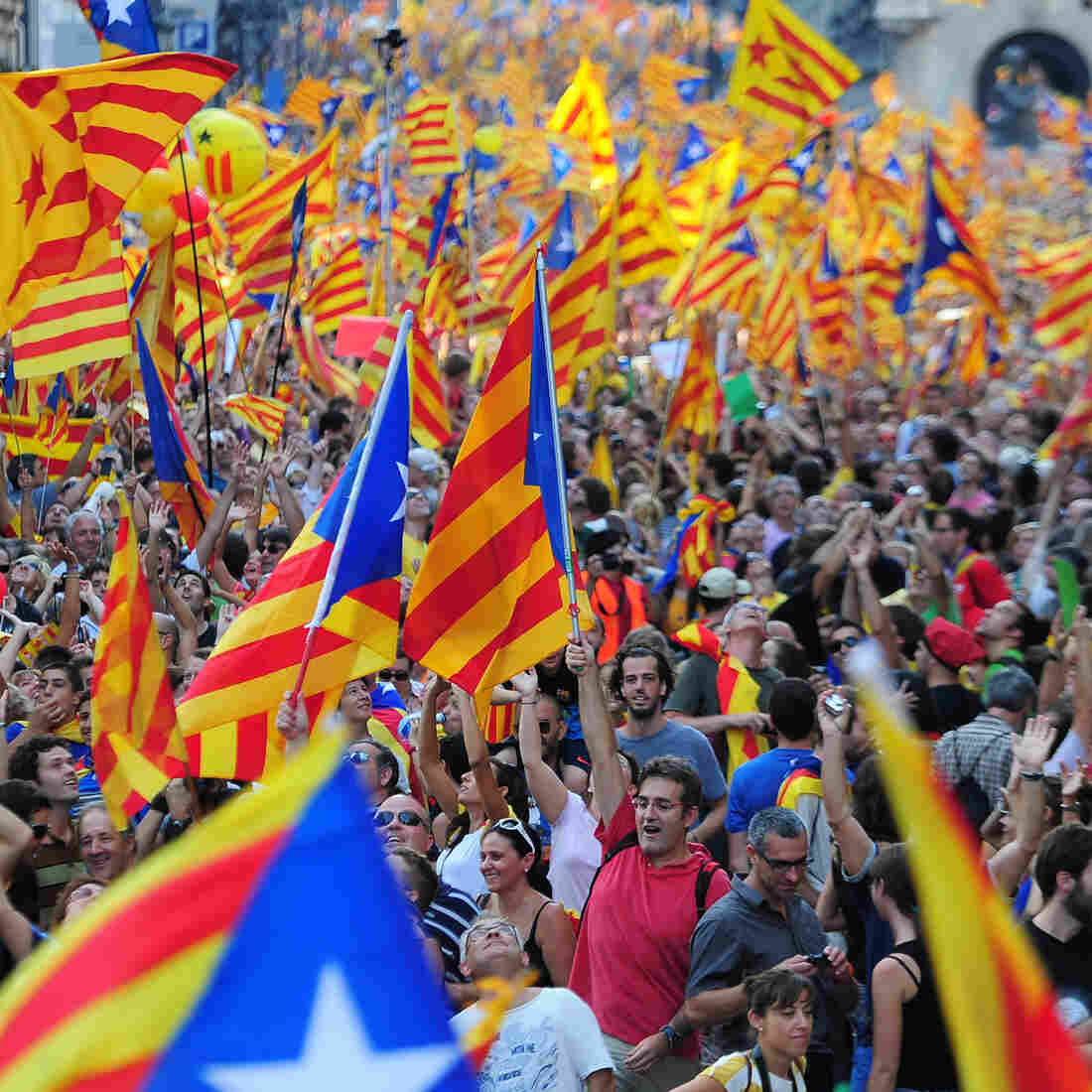 Spanish Crisis Revives Calls For Catalan Secession