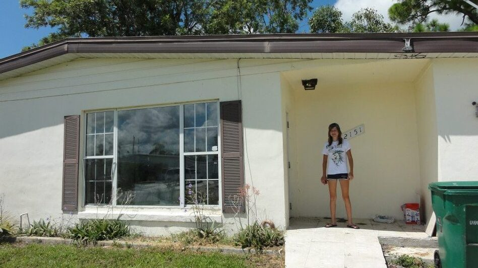 This is Willow's new house. (Shannon Moore)