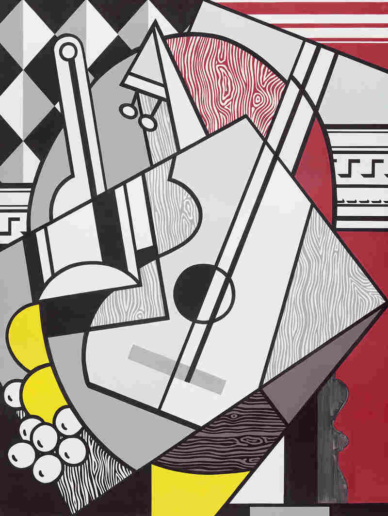Pablo Picasso was Lichtenstein's hero, says National Gallery curator Harry Cooper. Lichtenstein painted his Picasso-inspired Cubist Still Life in 1974.