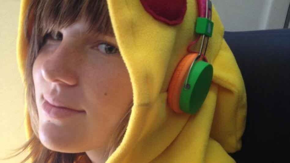 Willow in her Pikachu costume. (Shannon Moore)