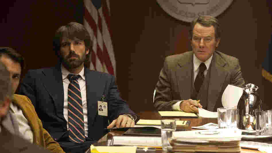 CIA agents Tony Mendez (Ben Affleck) and Jack O'Donnell (Bryan Cranston) plan a risky mission to save six Americans trapped in Iran.