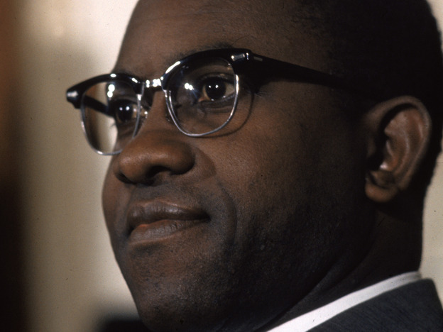 Andrew Brimmer in 1970, when he was a Federal Reserve Board governor. (Getty Images)