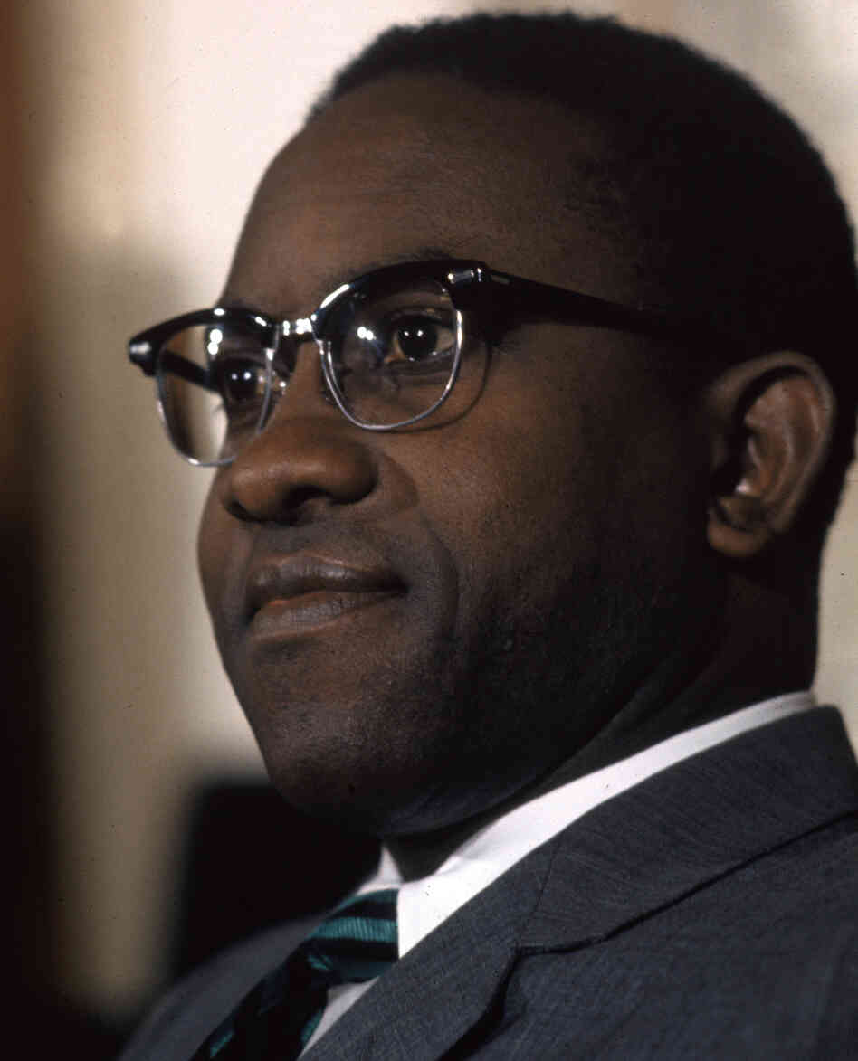 Andrew Brimmer in 1970, when he was a Federal Reserve Boa