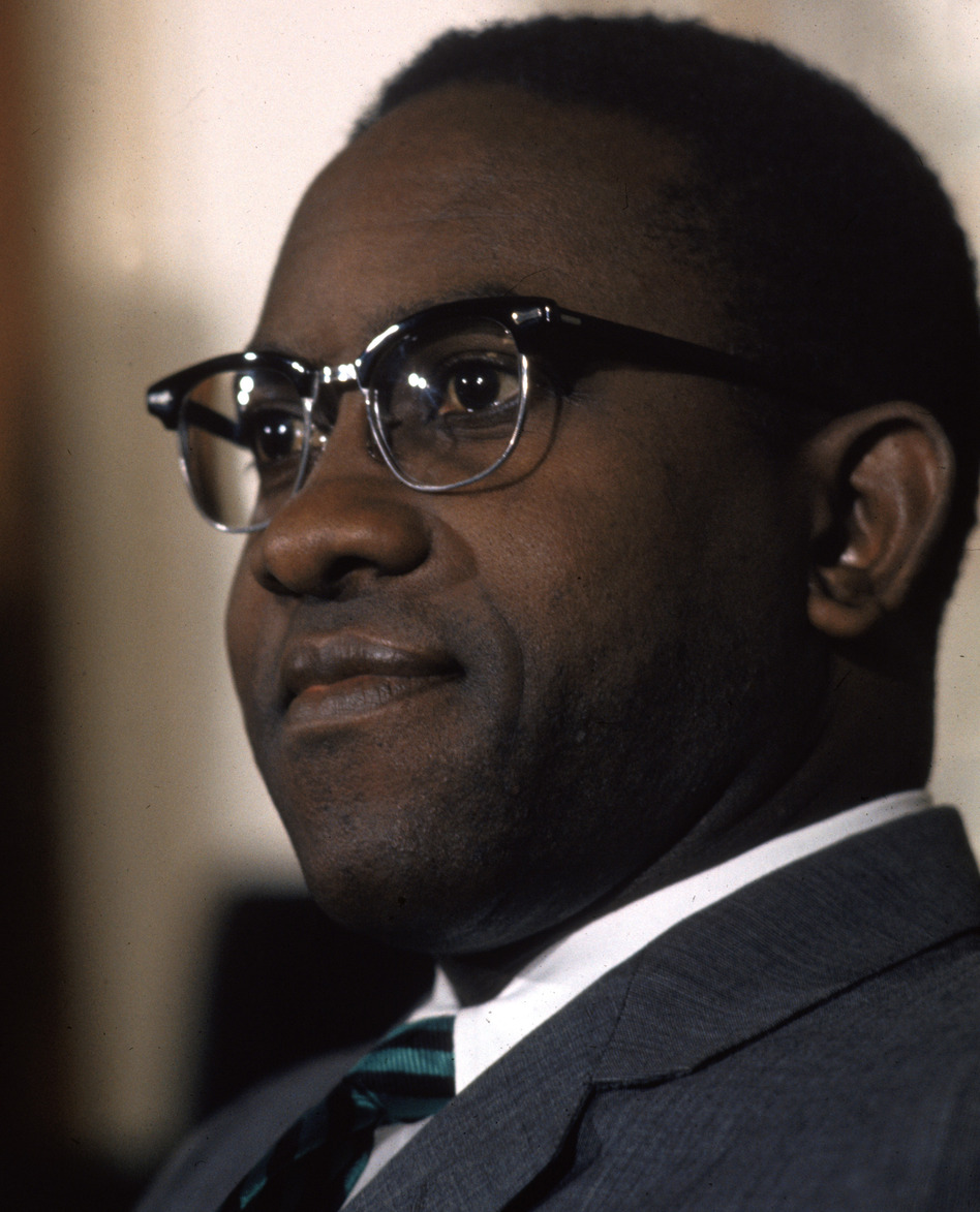 Andrew Brimmer in 1970, when he was a Federal Reserve Board governor.