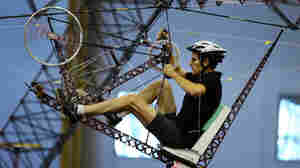 A Human-Powered Helicopter: Straight Up Difficult
