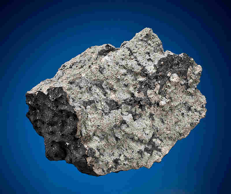 Own A Piece Of Mars: A fragment of the meteor that crashed into Tissint, Morocco, in July 2011. This piece is one of many meteorites up for auction in Manha