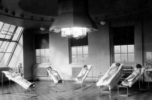 Before the polio vaccine was developed, doctors tried to treat patients with ultraviolet light, which was known to inactivate the virus in the lab.