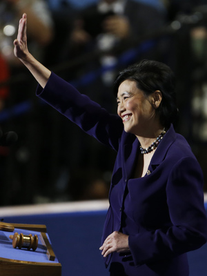 Rep. Judy Chu of California was the first Chinese-American woman in Congress, taking office in 2009.