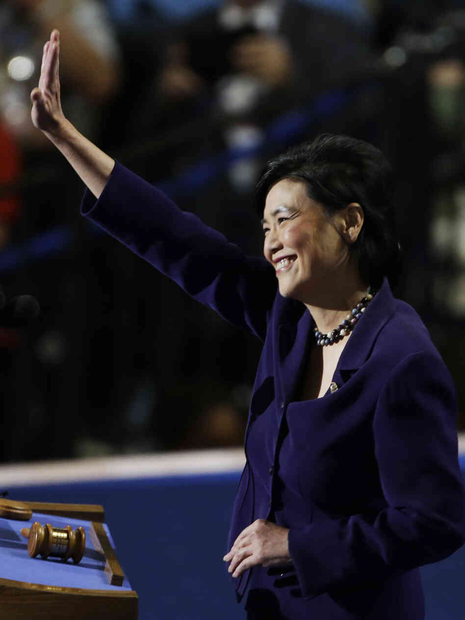 Rep. Judy Chu of California was the first Chinese-American woman in Congress, taking office