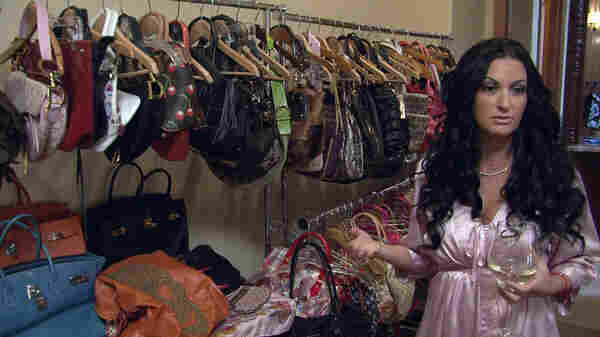 Heiress Heather, of the new show My Shopping Addiction, really likes to buy purses.