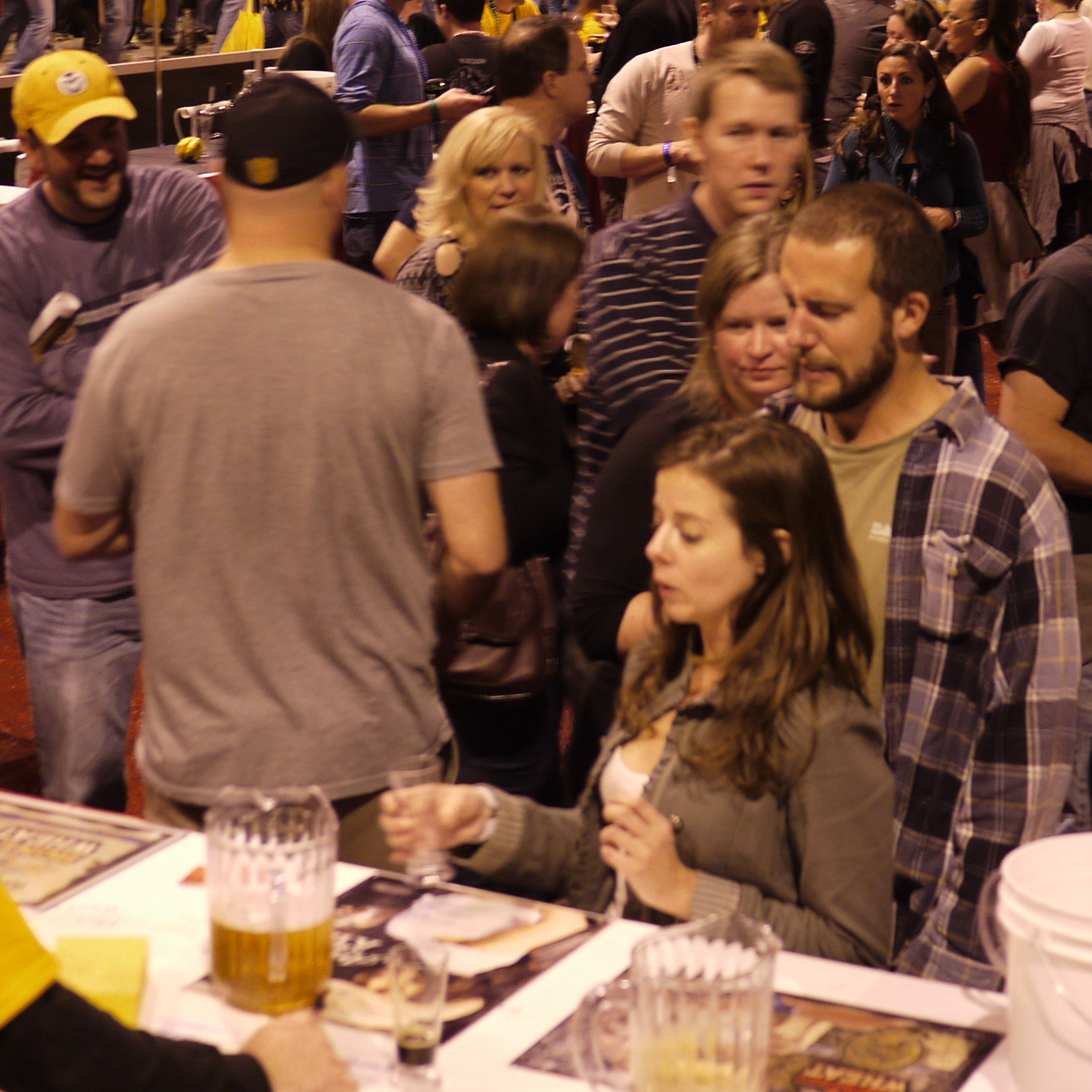 Some 49,000 people came to Denver for the 2012 Great American Beer Festival, which featured a record 2,700 beers in the festival hall.