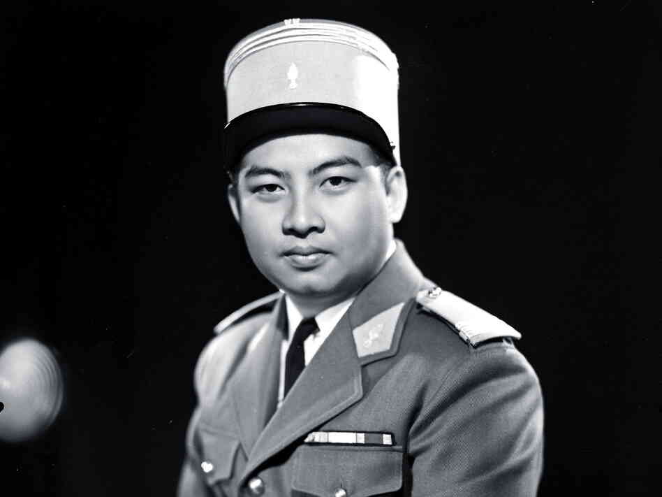 France installed Sihanouk (shown here in a photo believed to be from the 1950s) as Cambodia's king in 1941, thinking he would make a good puppet ruler. Instead, the country overthrew colonial rule under his watch.