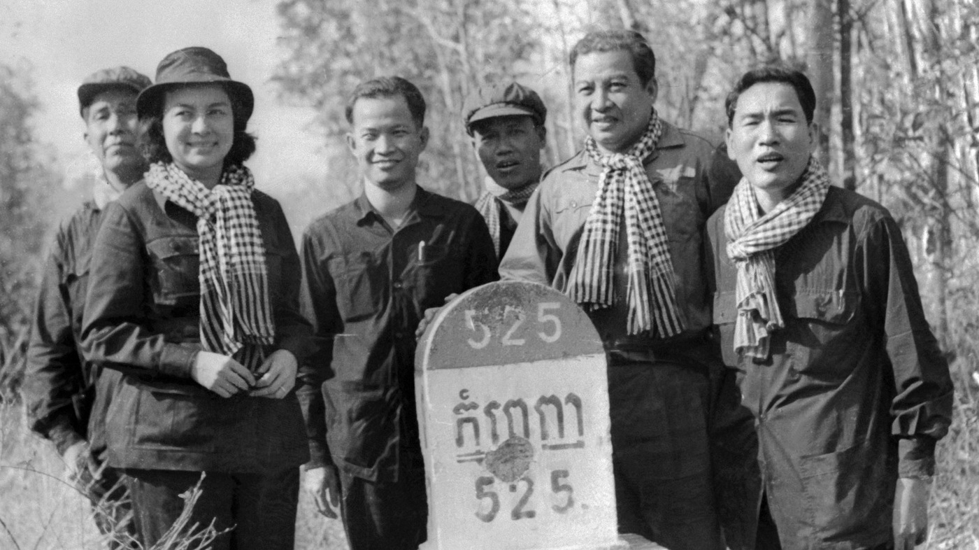 King Sihanouk, An Artist And Architect Of Cambodia : NPR