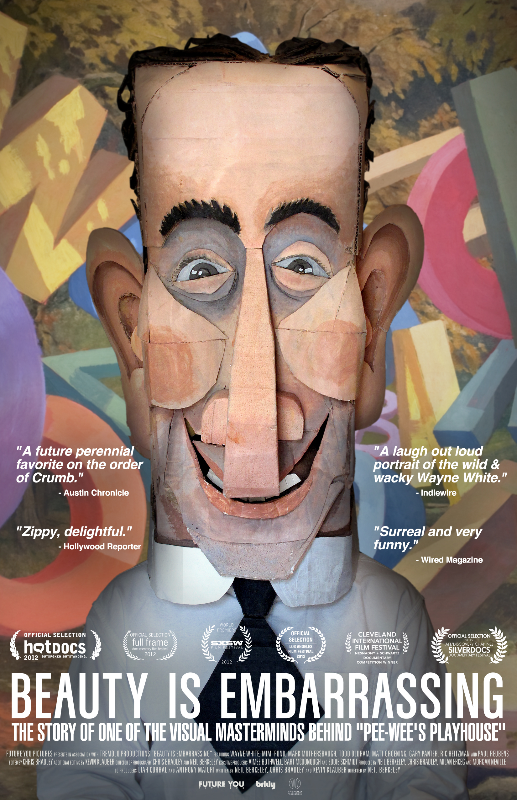a review of the documentary about the artist wayne white beauty is embarrassing Wayne white is a los angeles-based, internationally-acclaimed artist  the  subject of a 2012 feature-length documentary beauty is embarrassing directed  by.