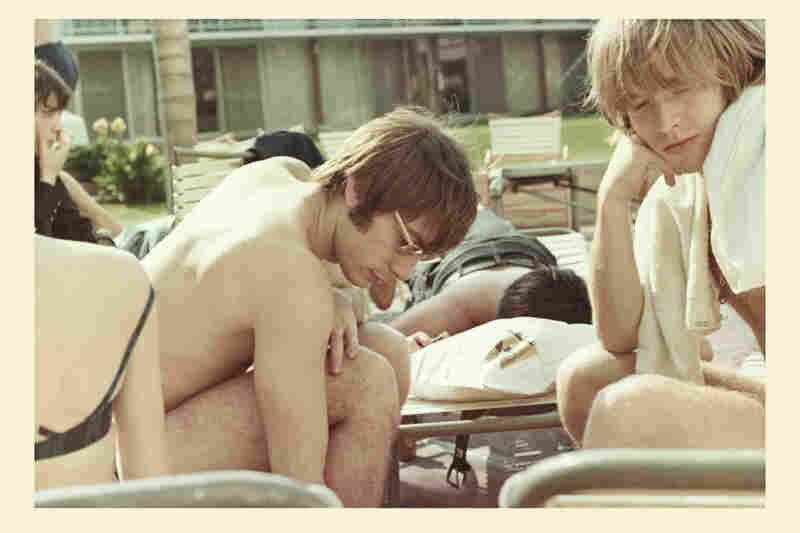 Brian Jones and Charlie Watts