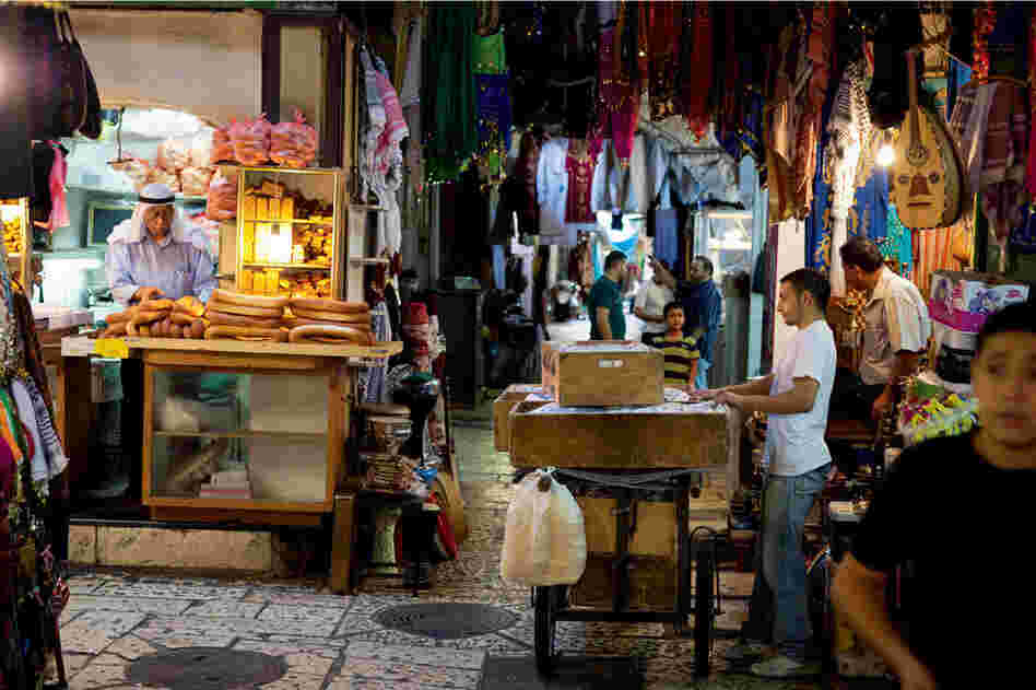 In Jerusalem, many worlds come together, yet remain apart, at the marketplace.