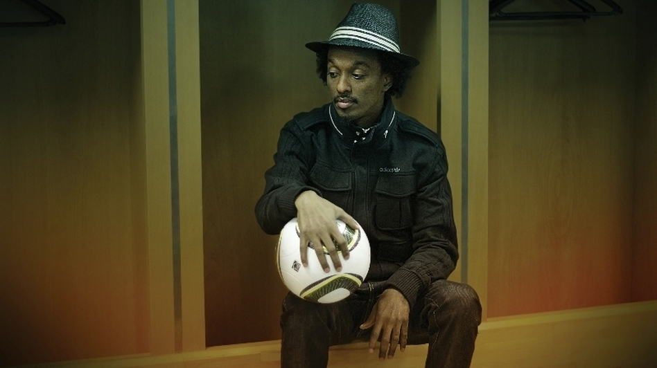 K'Naan's new album is titled Country, God or the Girl. (Courtesy of the artist)