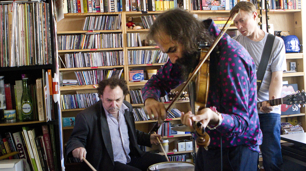 Dirty Three plays a Tiny Desk Concert on Sept. 24. (NPR)