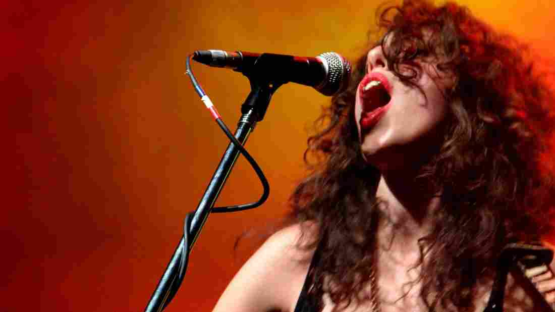 Paula Maffia is the lead singer of Argentina's La Cosa Mostra.