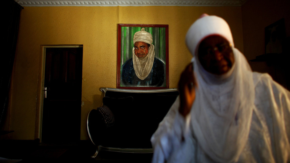The emir of Kano state is the highest-ranking Muslim leader in northern Nigeria. Wada Mohamed Aliyu, seen here, is the emir's point man on polio. Local imams boycotted polio vaccination in 2003 and 2004, but now solidly support immunization. (NPR)