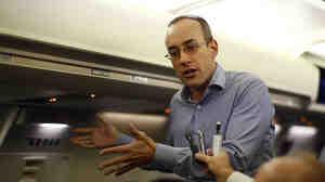 Dan Senor, a senior adviser to Republican presidential candidate Mitt Romney.