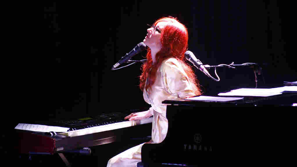 Tori Amos in concert in New York City on October 5th.