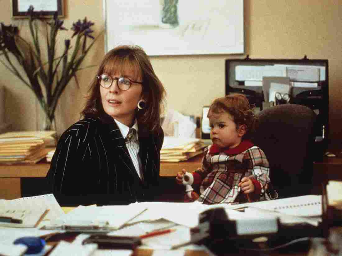 Diane Keaton in Baby Boom.