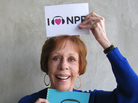 Carol Burnett at NPR West.