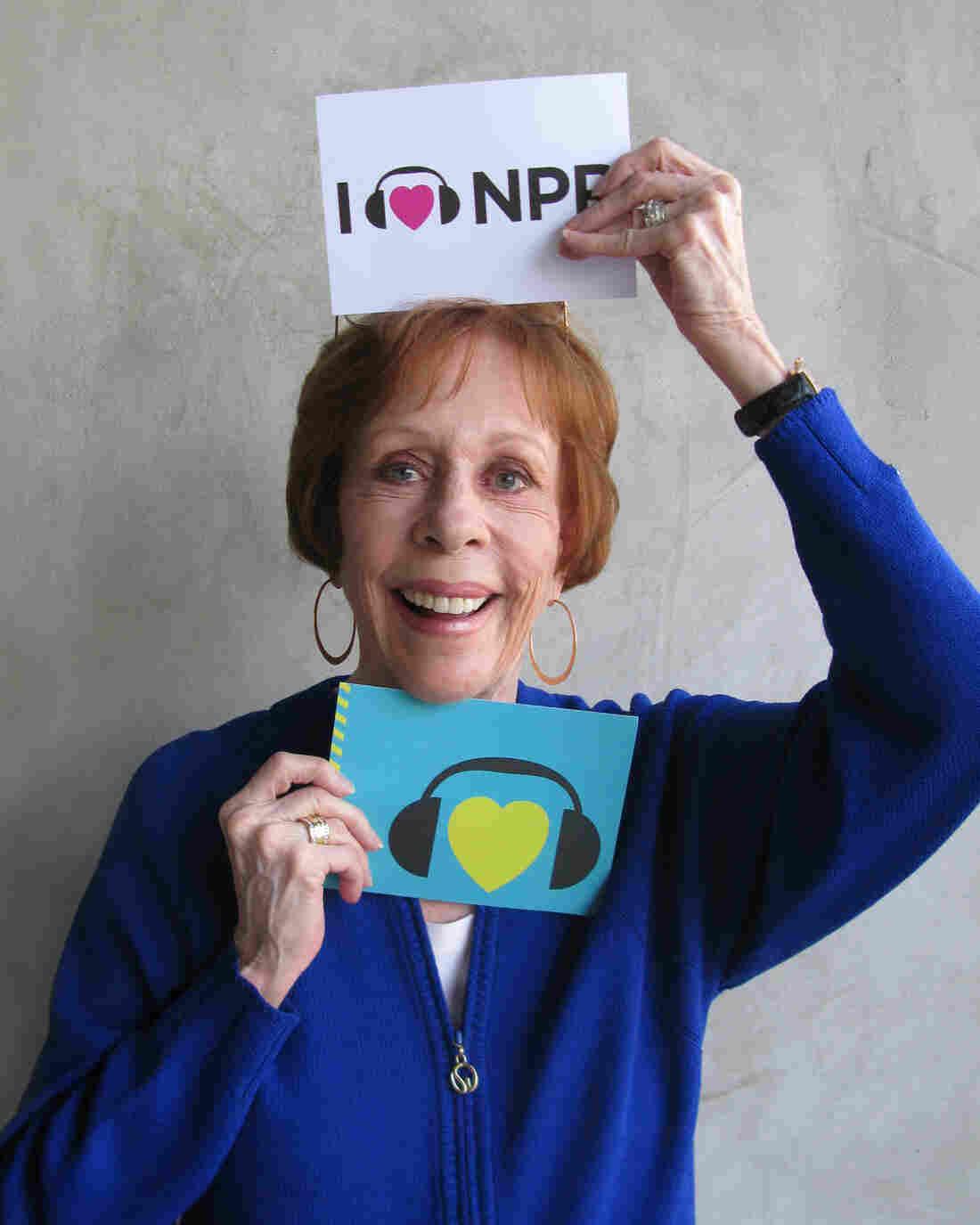 Carol Burnett at NPR West.