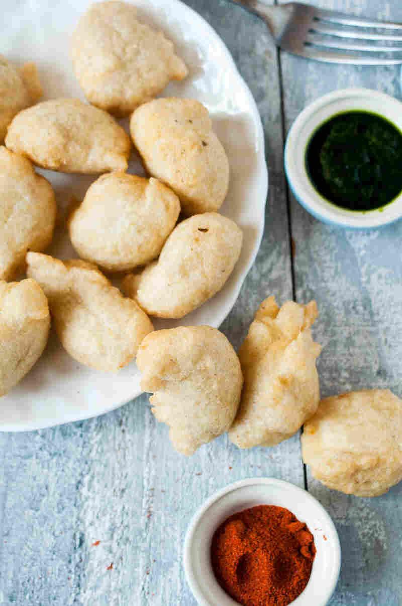 Split Lentil Dumplings (Urad Dal Ke Vade)