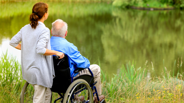 Not many elderly people get long-term care insurance. It's expensive and many hope their kids will look after them instead. (iStockphoto.com)