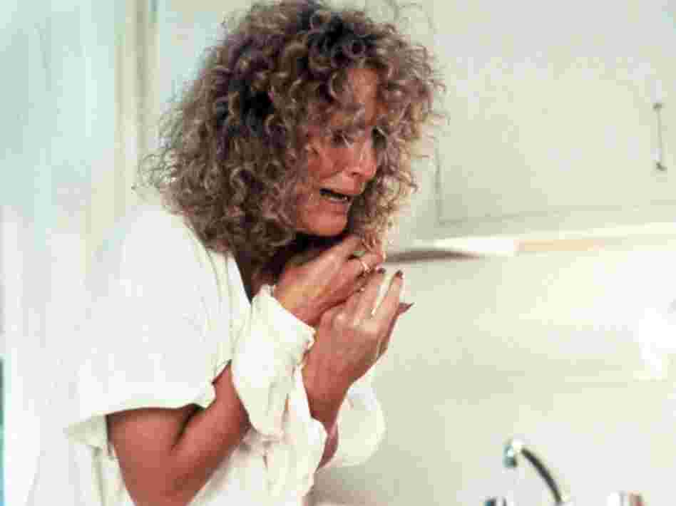 Glenn Close in Fatal Attraction.
