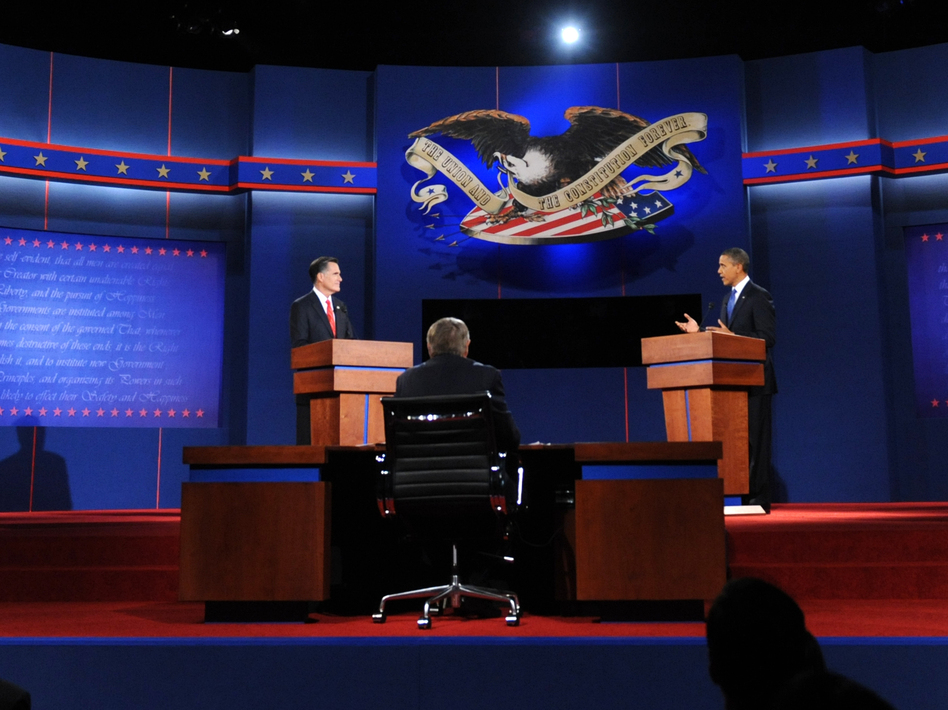 President Obama and Republican presidential candidate Mitt Romney first debated Medicare on Oct. 3.