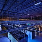 Google's data center in Council Bluffs, Iowa, houses servers in over 115,000 square feet of space.