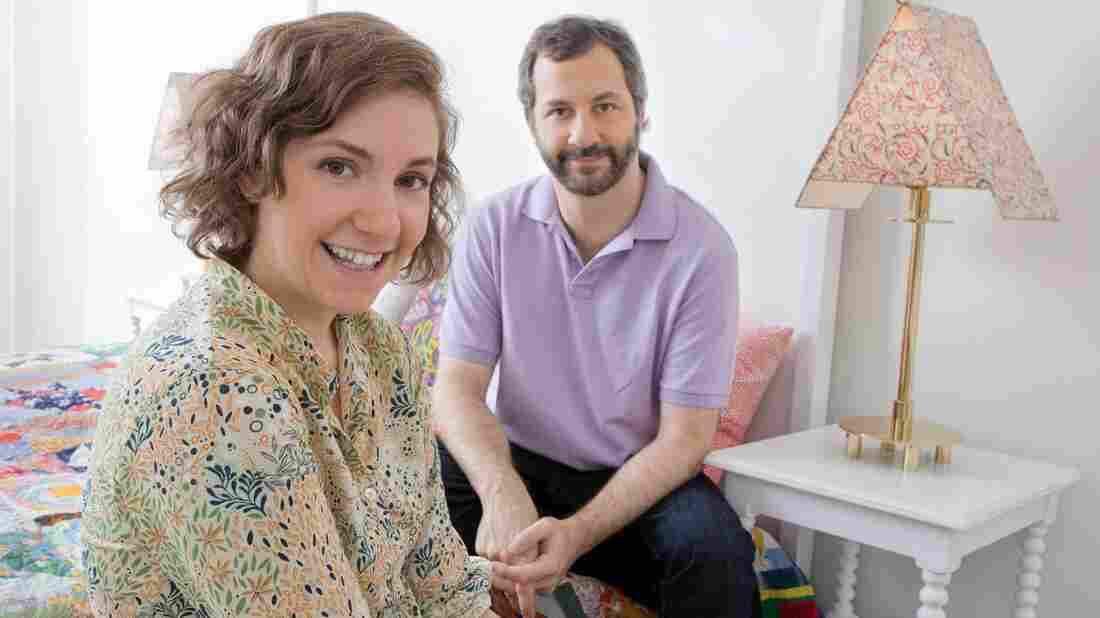 Lena Dunham and Judd Apatow appear on tonight's episode of Iconoclasts on the Sundance Channel.