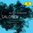 Cover art for Esa-Pekka Salonen's new album, Out of Nowhere.