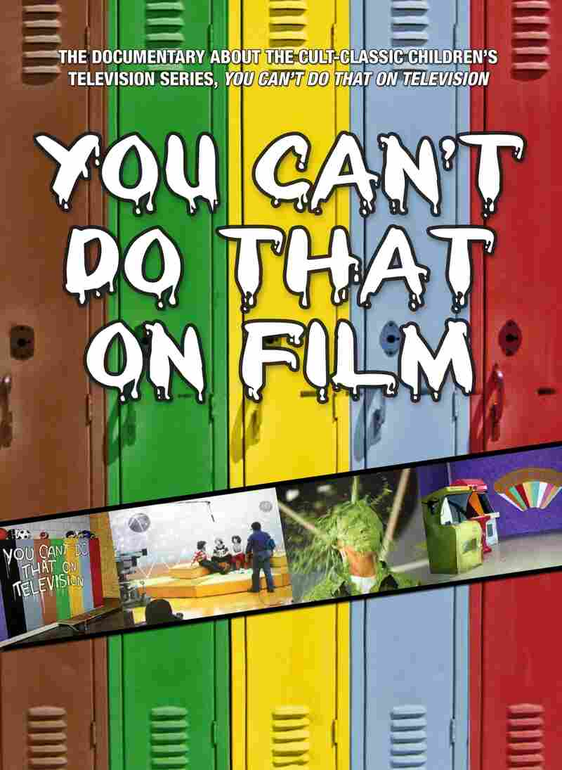 The box for the DVD of the film You Can't Do That On Film.